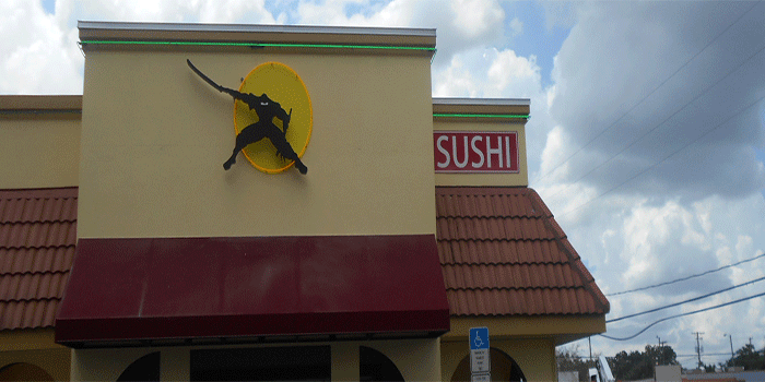 Restaurant led sign